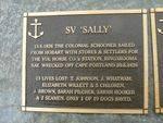 SV Sally Plaque : 2007