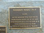 Nisshin Maru No8 Plaque : 2007