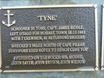 Tyne Plaque : 2007