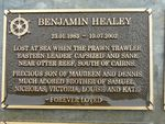 benjamin Healey Plaque : 2007