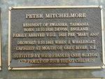 Peter Michelmore Plaque : 2007