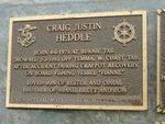 Craig Justin Heddle: 2007