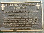 Stephen Micheal Hartley : 2007