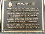 Naval Plaque - HMAS Perth : 2007