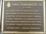 Naval Plaque : Hmas Parramatta 2 : 2007