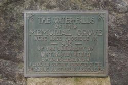Waterfall Plaque: 24-August-2015