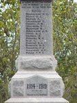 Tooborac War Memorial