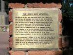 Toowoomba Boer War Memorial Plaque