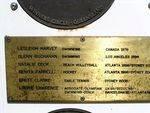 Townsville Olympians Inscription Plaque