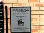 Truck Drivers Memorial Inscription Plaque 2