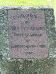 Tytherleigh Inscription Oct 2012