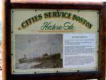 US Cities Service Boston-Historical Plaque
