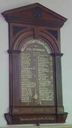 19-April-2015 : Restored roll of honour