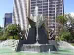 Victoria Square Fountain 2 : 01-10-2011