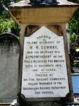 W Sowray Memorial Inscription