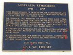 Australia Remembers Inscription : 08-August-2014