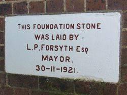 Foundation Stone: 01-July-2015
