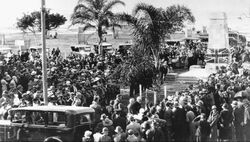 1935 : Unveiling (State Library of Queensland)