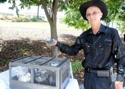 Ken Betteridge+Pigeons: 07-September-2014