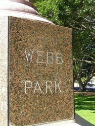 Webb Park Inscription : 18-September-2014