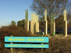 Milestone Sculptures: 01-July-2015