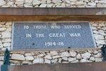 World War One Memorial : 13-October-2012